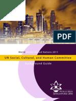 SOCHUM Study Guide WorldMUN 2011