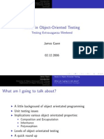 20061202 Gawn Issues in Object Oriented Testing