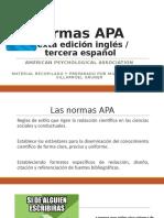 Normas APA sexta edición. PVG. Mayo 2019