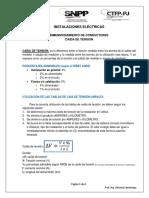 DIMENSIONAMIENTO DE CONDUCTORES- CAIDA DE TENSIÓN.pdf