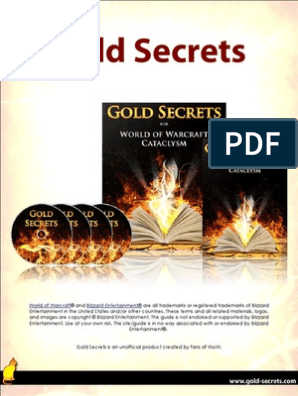 Gold Secrets Gold Guide | World Of Warcraft | Leisure