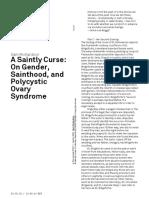 Sam Richardson A Saintly Curse- On Gender, Sainthood, and Polycystic Ovary Syndrome