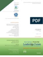 2010 GHP Forum Program 1-6-10