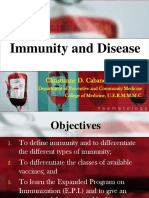 [PPT] DPC 1.4.2 Immunity and Disease - Dr. Cabanos.pdf