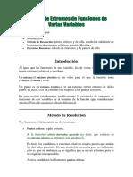 Cálculo de Extremos de Funciones de Varias Variables.pdf