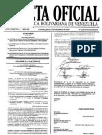 Gaceta Oficial Extraordinaria Nº 6.013