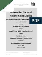 analisis El Sagrario Metropolitano