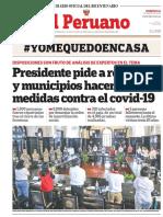 DIARIO EL PERUANO 22/03/2020