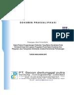 SDP PQ 2015 Kajian Potensi Pengembangan Pelabuhan