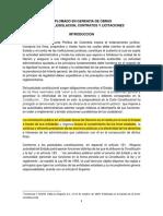 MARCO JURIDICO, FINES Y PRINCIPIOS DE LA CONTRATACION