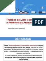 TRATADOS DE LIBRE COMERCIO Y PREFERENCIAS ARANCELARIAS