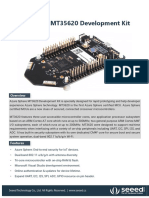 Azure Sphere MT3620 Development Kit Product Brief-2018-09-10