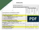 5 Preparing Evidence Plan