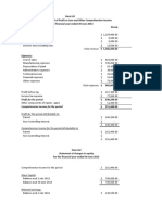 Sem 1 2014 Assignment 2 Financial Statements