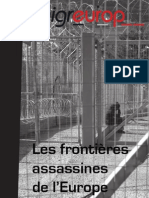 Les frontières assassines de l'Europe
