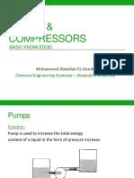 Pumps & Compressors