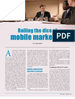 Rolling the Dice of Mobile Marketing