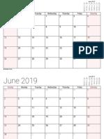 May 2019 - April 2020