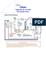 Free energy Zilano & Don Circuits for Study of Zilano Posts
