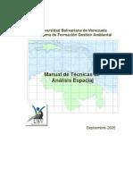 Manual de Técnicas Análisis Espacial para el Gestor Ambienta