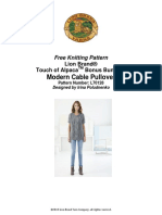 l70128a- modern cable pullover - lion brand.pdf