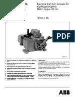 ABB - Ugaoni Servomotor 100 Nm