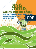 Feeding the World, Caring for the Earth, Asia Continental Metting March 2010