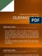 QUEMADURAS inicio