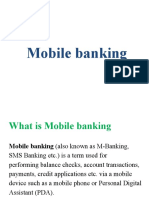 Mobile Banking Ppt