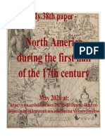 North America during the first half of the 17th century. Author