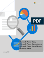 Power Apps Power Automate and Power Virtual Agents Licensing Guide - Feb 2020(1).pdf