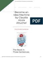 Book Summary_ Become an Idea Machine by Claudia Azula Altucher.pdf