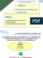 FOE_Temas_5_6_Planificación