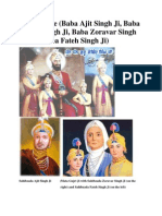 4 Sahibzade, 5 Pyaare, 5 Kakar and 5 Takhts of Sikhism (Images). Explore some of the rare photographs by visiting www.panjabdigilib.org