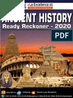 La Ex Ancient History Ready Reckoner RRP 2020