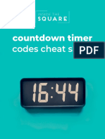 Countdown Timer Codes - Free from InsideTheSquare.co