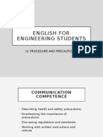 WEEK 5_Procedure and Precaution ENGLISH FOR ENGINEERING STUDENT.pptx