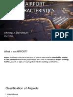 Airport characteristics