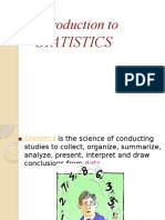 Introduction to STATISTICS-new unit 1 chapter 1