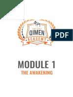 Module 1 - The Awakening Notes.pdf