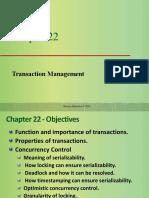 ch07 - Transaction Management