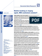 Mobile Banking is Ringing Again