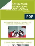 PRESENTACIONES CLASE 1 - CURSO DE ESPECIALIZACIÓN EN ESTRATEGIAS DE INTERVENCIÓN PSICOEDUCATIVA 2020