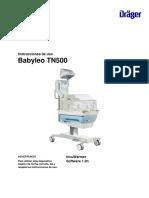 Instrucciones de Uso Babyleo TN500