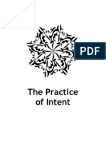 The Practice of Intent