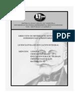 Plan de Estudio y Pensum de La u.n.e.s.r_licenciatura en Educacion Integral