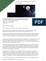 PERCEPÇÃO DA LINHAGEM ORIGINAL