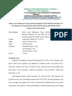 Berita Acara TAK tas dari flanel Kelompok bantur 2020