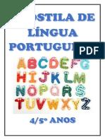Apostila de Atividades Língua Português