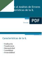 2. Características de la IL